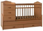 Детская кроватка - трансформер SKV-Сompany 73001 СРОЧНО
