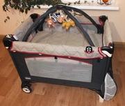 Кровать-манеж с пеленальным столом Chicco Lullaby Top Travel