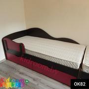 Односпальные и полуторные кровати и детские кроватки в Минске