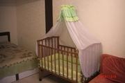 Кроватка (массив ольха) в отличном состоянии