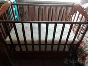 Детская кроватка СКВ с маятниковым механизмом