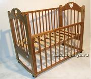 Кроватка детская Можга + матрас